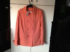 NWT New Look peach jacket. Size 12
