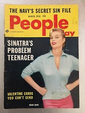 Vintage PEOPLE TODAY Nancy Sinatra Girlie Adult Mini Magazine Risque March 1958