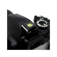 Nivel de burbuja / Protector de zapata para camara reflex DSLR Contactos Flash