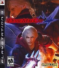 Devil May Cry 4 Playstation 3 Video Game PS3 Capcom Games Dante DMC