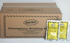 Emergency Drinking Water Case of 60 Pouches (4.2OZ.)ea. MAYDAY Survival WA44