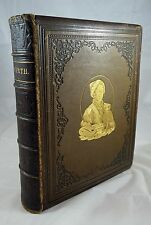 The Complete Works of William Hogarth, Leather, Gilt Decorations, Circa 1860