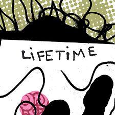 """LIFETIME """"S/T"""" LP (Colored Vinyl) No Idea"""