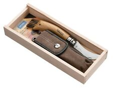 French Opinel Mushroom Knife - No.8 Stainless with Sheath - Gift Boxed – NEW