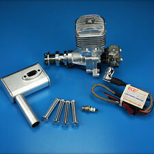 DLE30 30cc Gas Engine 1600rpm/min for RC Plane Aircraft and Muffler XD SHE New Y