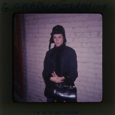GERALDINE CHAPLIN RARE ORIGINAL EKTACHROME SUPER 127 FORMAT SLIDE TRANSPARENCY