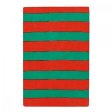 Ladies Red & Green Stripe Tights - Christmas Elf Fancy Dress - Dance Costume