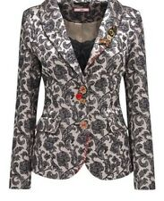 New Ladies Womens Joe Browns Party Blazer Jacket Mac Gold/Black UK 14