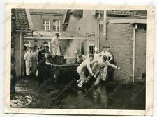 Foto, 14.Schiffs-Stamm-Abteilung, Küche bei der Arbeit in Breda, Holland f (1251