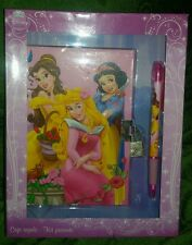 DIARIO SEGRETO + PENNA DISNEY - Snow White The Little Mermaid Figure Diary Plush