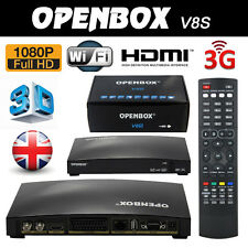 Genuine OPENBOX V8S Digital Freesat PVR Full Loaded HD TV Satellite Receiver Box