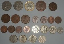 Lot various coins U.K. / mixed dates
