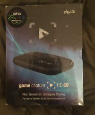 ELGATO Captura de juegos HD60 1080p 60 Fps registro de HD Totalmente Nuevo Sellado