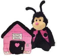 Happy Nappers Bungalow to Ladybug pillow plush toy with doorbell ages 3+