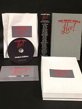 The Magic Apple Live (Book & DVD) Limited Ed. set OOP