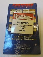Disney WDI Fast Pass Roger Rabbit's Car Toon Spin Pin