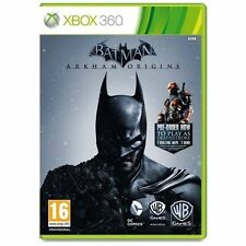 Batman: Arkham Origins Xbox 360 Steel Pack Edition Sealed UK PAL 5051892157704