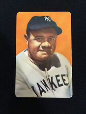 BABE RUTH VINTAGE RETRO PLAYING CARD NY YANKEES BASEBALL CARD
