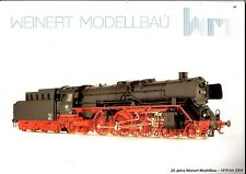 Catalogue Weinert  25ème anniversaire 1979-2004 ( échelles Ho - N - TT - O)
