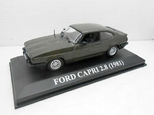1:43 COCHE FORD CAPRI 2.8 AÑO 1981 MODEL CAR 1/43  IXO ALTAYA MINIATURA METAL