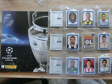 Panini Champions League 2008/2009 * kit completo complete set * Empty álbum