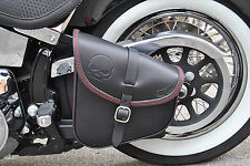 SADDLE BAG SWINGARM BAG FOR HARLEY DAVIDSON SOFTAIL,RIGID FRAMES ITALIAN BEAUTY