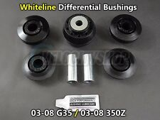 Whiteline Differential Mount Bushings (Front and Rear) for 03-08 G35 03-08 350Z