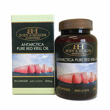 Body & Health Antarctica Pure Red Krill Oil 500mg 90 Capsules
