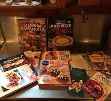 Huge Estate Lot Of Recipe Books, Clippings, Etc. All In Nice Shape!