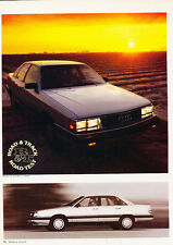 1984 Audi 5000 5000S - Original Road Test Car Print Article J282