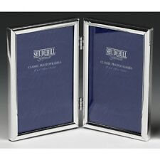 "SILVER SPECIAL DOUBLE PICTURE PHOTO FRAME 4"" x 6"""