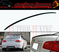 2007-2013 E92 COUPE M STYLE BLK REAL CARBON FIBER FLUSH TRUNK LID SPOILER WING