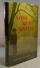 Stephen Ransome SOME MUST WATCH First edition 1961 Crime Club Fine HC in dj