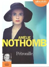 AMELIE NOTHOMB PETRONILLE Audiolib + PARIS POSTER GUIDE