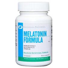 Universal Nutrition MELATONIN 5mg  plus Vitamin B6 - 120 capsules SLEEP AID