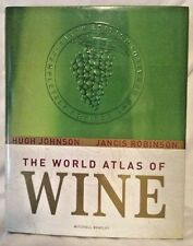 The World Atlas Of Wine Hardback Mitchell Beazley Great Gift