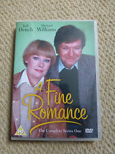 A FINE ROMANCE - THE COMPLETE SERIES ONE 1 FIRST DVD - JUDI DENCH - COMEDY