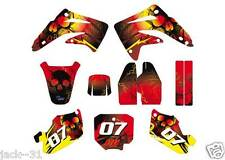 NG racing HONDA MX CR 85 CR85 Motocross GRAPHIC KIT CUSTOM PLATE 2003 - 2012