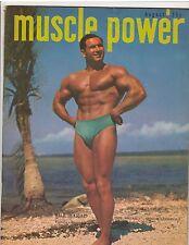 Muscle Power Bodybuilding fitness bodybuilder magazine BILL BARAD 8-49