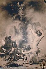 Victorian strega wicca magic Halloween Scopa TESCHIO Pozione Pagan Gothic
