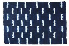 Soft handmade African indigo textile - stitch dyed -  Dogon, Mali IM20