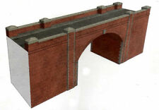 OO Building Card kit - Red Brick Bridge & Tunnel - Superquick A14 - free post