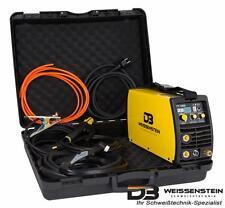 Schweißgerät Inverter WIG/TIG/MMA 180 A DC -HF-Zündung+.GRATIS Koffer