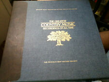 Franklin Mint The Greatest Country Music Recordings of all time Colored LP *L3