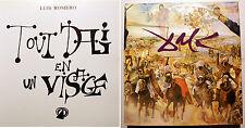 DALI/TOUT DALI EN UN VISAGE/L.ROMERO/ED DU CHENE /1975