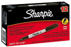 Sharpie Permanent Fine Point Marker Black 30001 12 Each