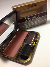 L'Oreal VISUELLE Softly Luminous Powder Blush ( PLUME ) NEW.