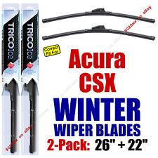 WINTER Wipers 2-Pack Premium Grade - fit 2008-2011 Acura CSX - 35260/220