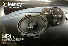 "Infinity Kappa 682.11cf Peak Power Handling 300 Watts 5""x7"" / 6""x8"" Car Speakers"