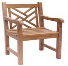 "Balitique Cross Back Teak Armchair ""BUY 4 AND GET FREE DELIVERY"""